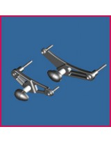 Triumph Bullet Frame Slider - COMPLETE SET Left & Right Side - STREET